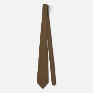 El doble de la piel de Brown echó a un lado color Corbatas Personalizadas