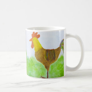 El doble del gallo echó a un lado taza de café