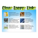 El doble del márketing de negocio de la energía li tarjetas postales