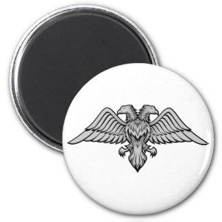 El doble dirigió el águila imán de frigorífico