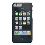 el doble echó a un lado caso funda de iPhone 6 barely there
