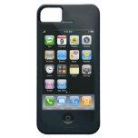 el doble echó a un lado caso iPhone 5 protectores