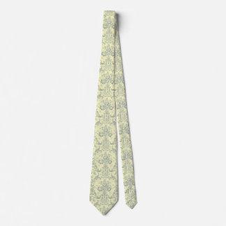el DOBLE elegante del lazo del francés del vintage Corbata