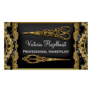 El doble escarpado de Hazelhurst Scissor al Tarjetas De Visita
