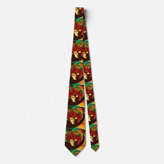 el doble psicodélico del lazo del arte pop echó a corbata personalizada