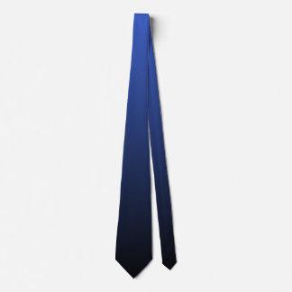 El doble real del negro azul echó a un lado Ombre Corbatas Personalizadas