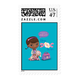 El doc. está en 2 timbres postales