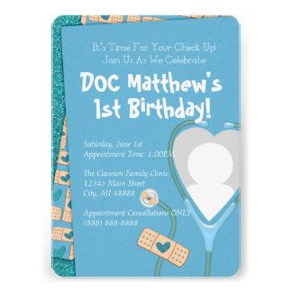 El doc está en la invitación del cumpleaños -