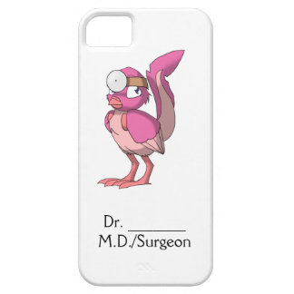 El doctor Berry Yogurt Reptilian Bird iPhone 5 Carcasa