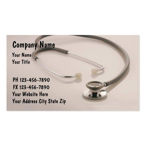 El doctor Business Cards_1 Tarjetas De Negocios