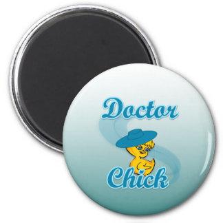 El doctor Chick 3 Imanes De Nevera