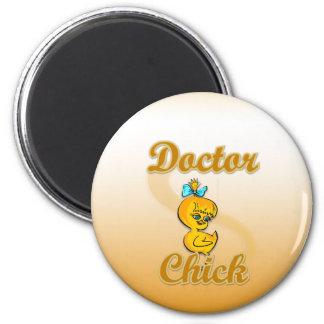 El doctor Chick Imán Para Frigorífico