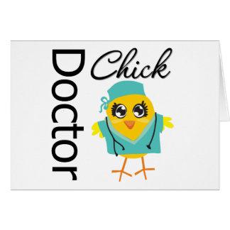 El doctor Chick Tarjeta De Felicitación