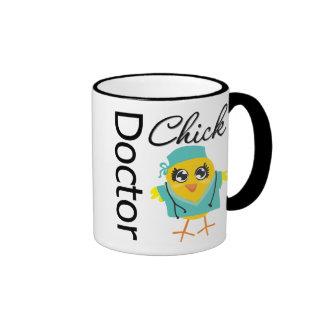 El doctor Chick Taza De Dos Colores