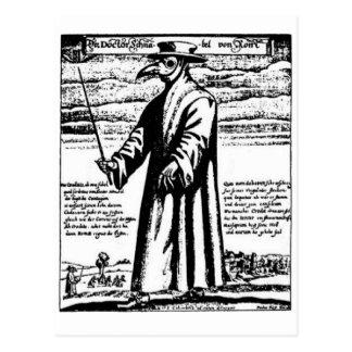 El doctor de la plaga tarjetas postales