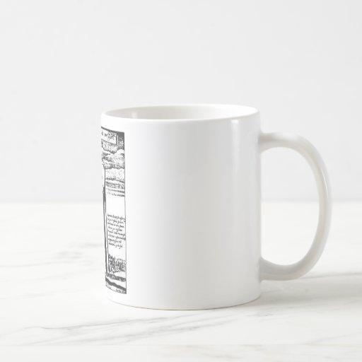 El doctor de la plaga tazas de café