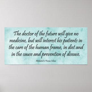 El doctor del futuro - impresión de la cita de Edi Impresiones