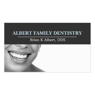 El doctor dental Smile Business de la odontología  Plantillas De Tarjetas De Visita