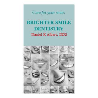 El doctor dental Smile Business de la odontología  Tarjetas De Visita