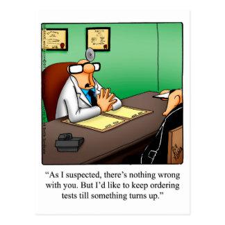 El doctor divertido Humor Postcard Postales