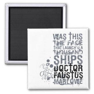 El doctor Faustus Quote (B&W) Iman De Nevera