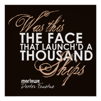 El doctor Faustus Quote Posters