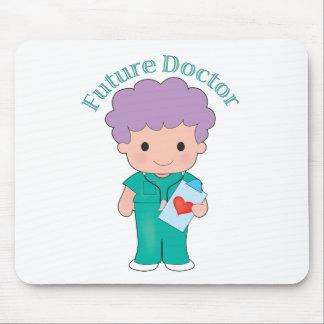 El doctor futuro Boy Alfombrillas De Ratones