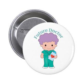 El doctor futuro Boy Pins