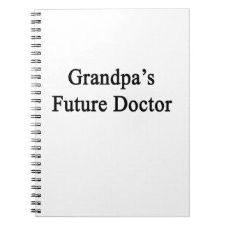 El doctor futuro del abuelo libretas espirales