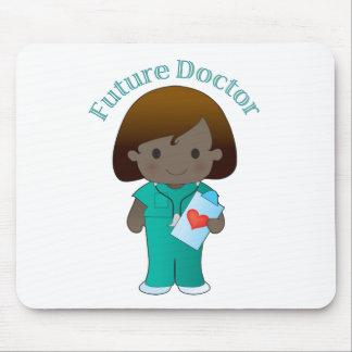 El doctor futuro Girl Alfombrilla De Raton