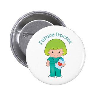 El doctor futuro Girl Pin