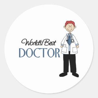 El doctor Gift Pegatinas