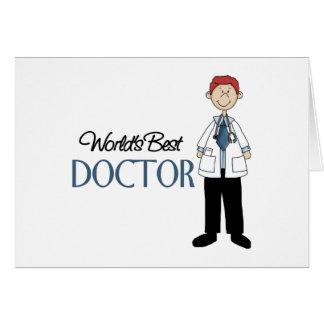 El doctor Gift Tarjeta