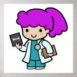 El doctor Girl Impresiones