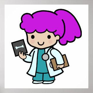 El doctor Girl Póster