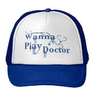 El doctor Hat Blu del juego Gorras