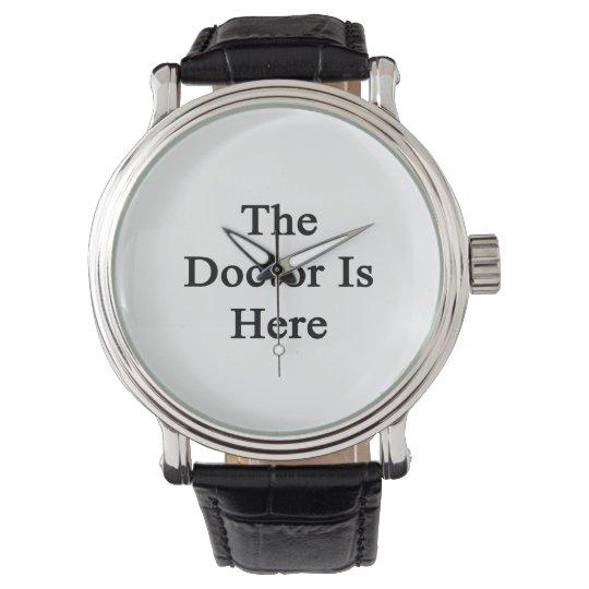 El doctor Is Here Relojes De Mano