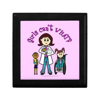 El doctor ligero Girl Caja De Regalo