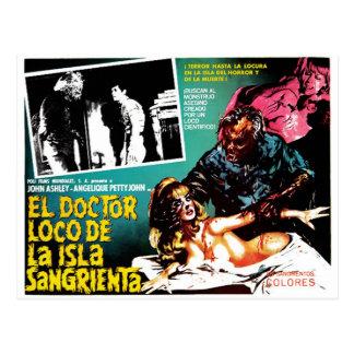 El doctor Loco De La Isla Sangrieta del EL Postal