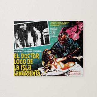 El doctor Loco De La Isla Sangrieta del EL Puzzle Con Fotos