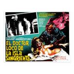 El doctor Loco De La Isla Sangrieta del EL Postales