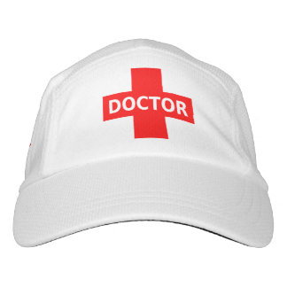 El doctor Logo Gorras De Alto Rendimiento
