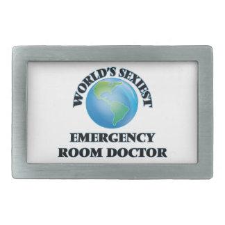 El doctor más atractivo de la sala de urgencias hebillas de cinturon rectangulares