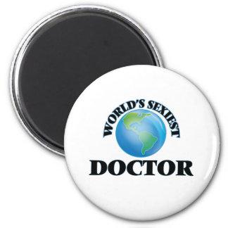 El doctor más atractivo del mundo imanes de nevera