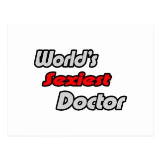 El doctor más atractivo del mundo tarjeta postal
