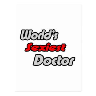 El doctor más atractivo del mundo tarjetas postales