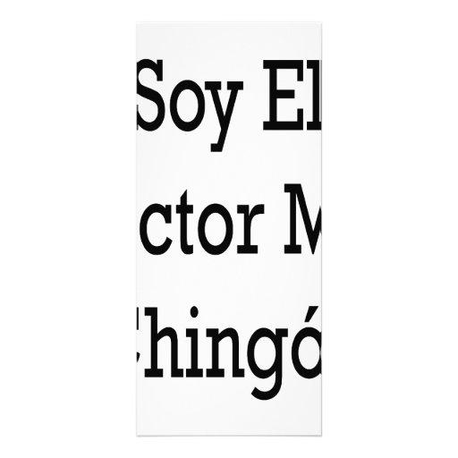 El doctor Mas Chingon del EL de la soja Plantillas De Lonas