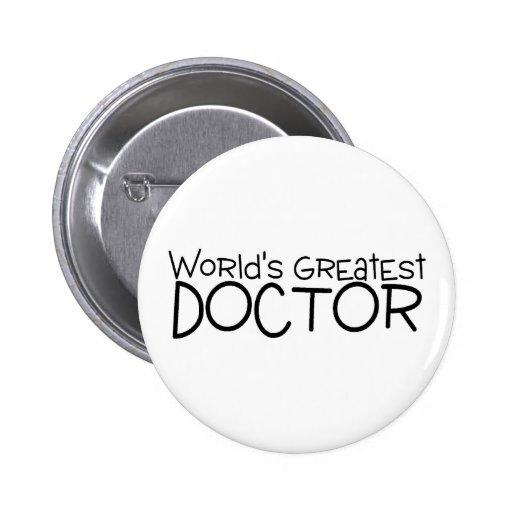 El doctor más grande de los mundos pins