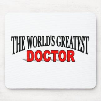 El doctor más grande del mundo tapete de ratones