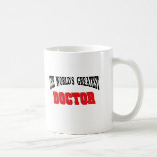El doctor más grande taza